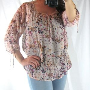 //SHEER OLD NAVY BLOUSE//
